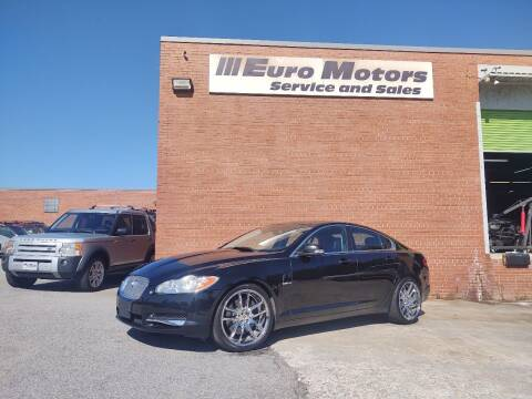 2009 Jaguar XF for sale at Euro Motors LLC in Raleigh NC