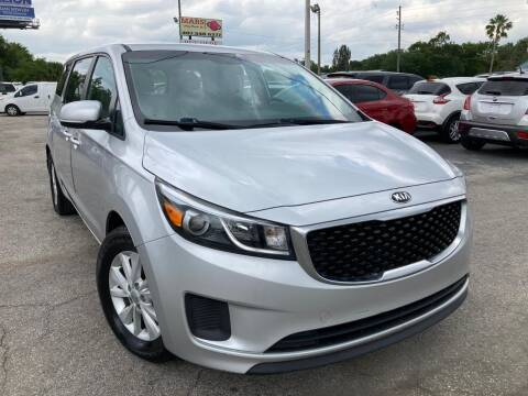 2016 Kia Sedona for sale at Mars auto trade llc in Kissimmee FL