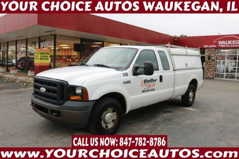 2007 Ford F-250 Super Duty for sale at Your Choice Autos - Waukegan in Waukegan IL
