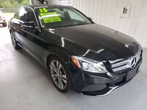 2015 Mercedes-Benz C-Class for sale at Bailey Family Auto Sales in Lincoln AR