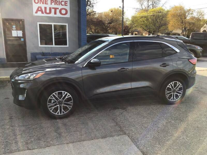 2020 Ford Escape for sale at One Price Auto in Mount Clemens MI