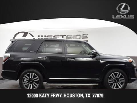 2018 Toyota 4Runner for sale at LEXUS in Houston TX