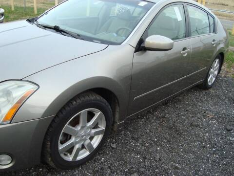 2004 Nissan Maxima for sale at Branch Avenue Auto Auction in Clinton MD