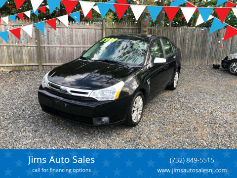 2008 Ford Focus for sale at Jims Auto Sales in Lakehurst NJ