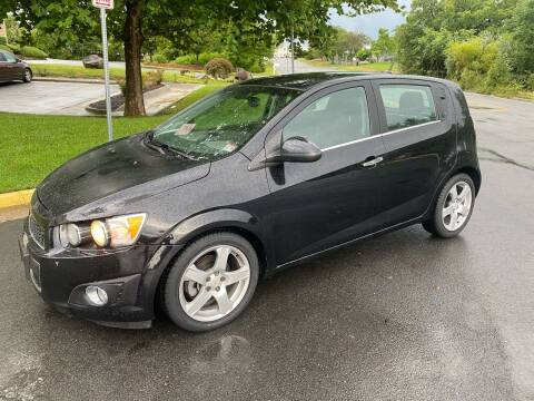 2012 Chevrolet Sonic for sale at Dreams Auto Group LLC in Sterling VA