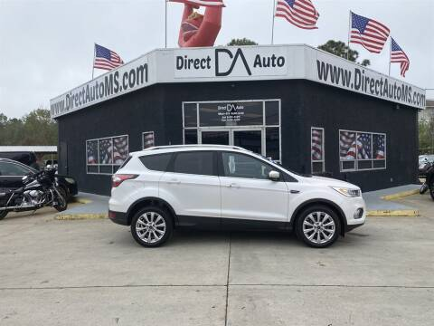 2017 Ford Escape for sale at Direct Auto in D'Iberville MS