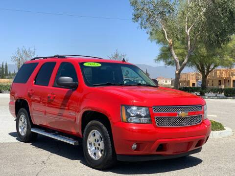2013 Chevrolet Tahoe for sale at Esquivel Auto Depot in Rialto CA