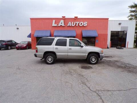 2005 GMC Yukon for sale at L A AUTOS in Omaha NE