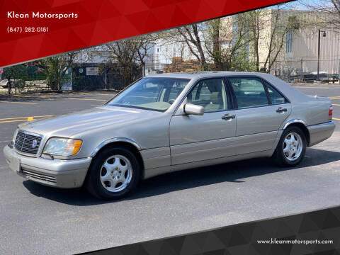 1998 Mercedes-Benz S-Class for sale at Klean Motorsports in Skokie IL