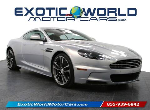 2010 Aston Martin DBS for sale at Exotic World Motor Cars in Addison TX