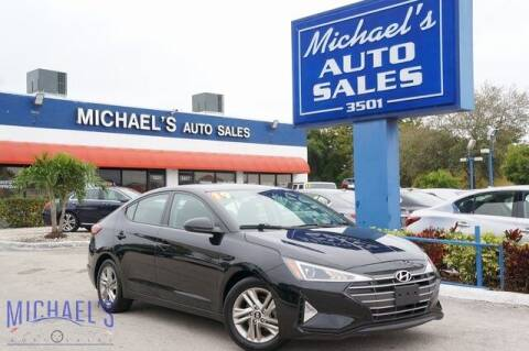 2019 Hyundai Elantra for sale at Michael's Auto Sales Corp in Hollywood FL