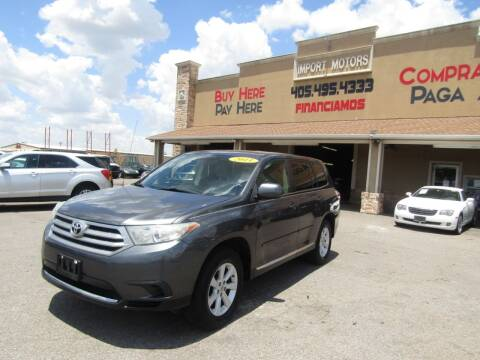 2011 Toyota Highlander for sale at Import Motors in Bethany OK