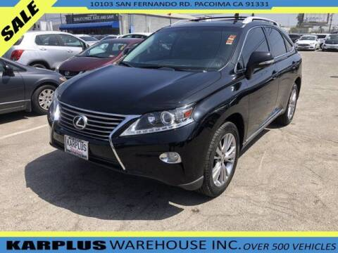 2014 Lexus RX 350 for sale at Karplus Warehouse in Pacoima CA