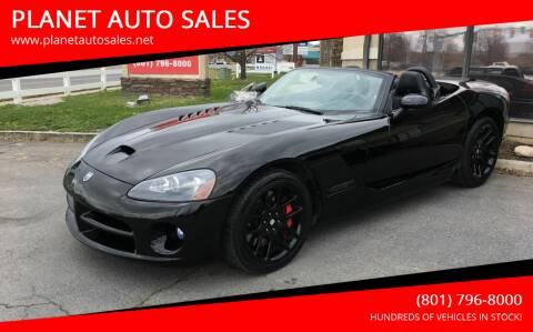 2006 Dodge Viper for sale at PLANET AUTO SALES in Lindon UT