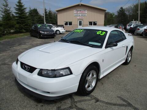 2003 Ford Mustang for sale at Richfield Car Co in Hubertus WI