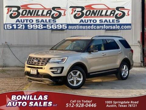 2017 Ford Explorer for sale at Bonillas Auto Sales in Austin TX