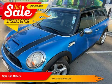 2009 MINI Cooper Clubman for sale at Star One Motors in Hayward CA