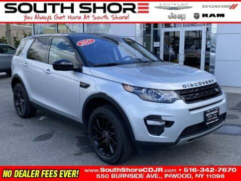2017 Land Rover Discovery Sport for sale at South Shore Chrysler Dodge Jeep Ram in Inwood NY
