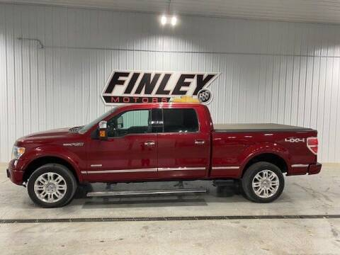 2014 Ford F-150 for sale at Finley Motors in Finley ND