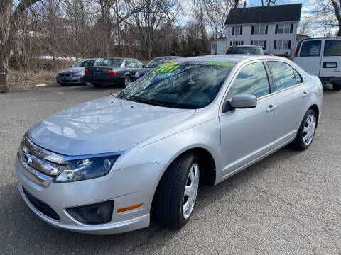 2011 Ford Fusion for sale at East Windsor Auto in East Windsor CT