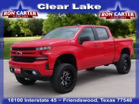2019 Chevrolet Silverado 1500 for sale at Ron Carter  Clear Lake Used Cars in Houston TX