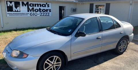 2004 Chevrolet Cavalier for sale at Mama's Motors in Greer SC
