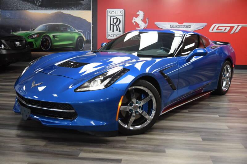 2014 Chevrolet Corvette for sale at Icon Exotics in Houston TX