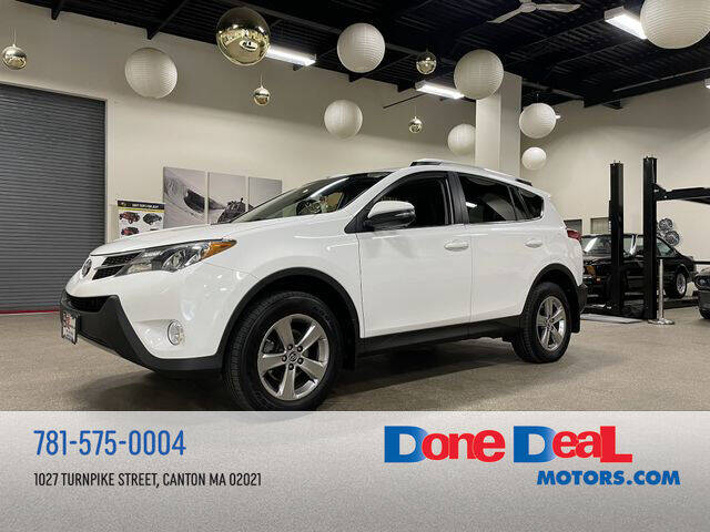 2015 Toyota RAV4 for sale at DONE DEAL MOTORS in Canton MA