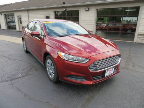 2014 Ford Fusion for sale at Tri-County Pre-Owned Superstore in Reynoldsburg OH