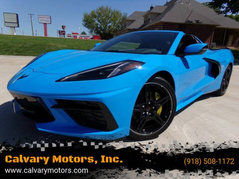 2021 Chevrolet Corvette for sale at Calvary Motors, Inc. in Bixby OK