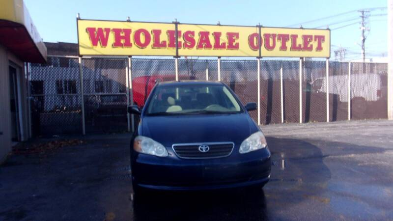 2008 Toyota Corolla for sale at LONG BROTHERS CAR COMPANY in Cleveland OH
