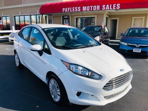 2015 Ford Fiesta for sale at Payless Motor Sales LLC in Burlington NC