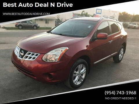 2012 Nissan Rogue for sale at Best Auto Deal N Drive in Hollywood FL