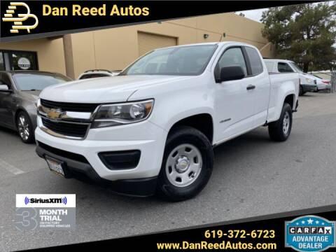 2016 Chevrolet Colorado for sale at Dan Reed Autos in Escondido CA