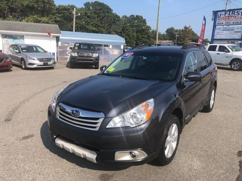 2011 Subaru Outback for sale at U FIRST AUTO SALES LLC in East Wareham MA