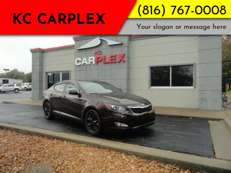 2013 Kia Optima for sale at KC Carplex in Grandview MO