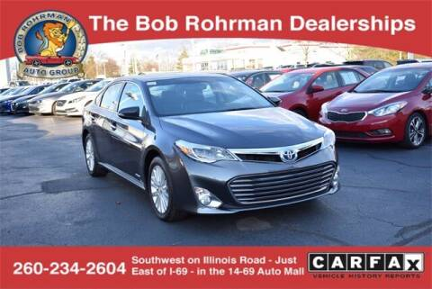 2014 Toyota Avalon Hybrid for sale at BOB ROHRMAN FORT WAYNE TOYOTA in Fort Wayne IN