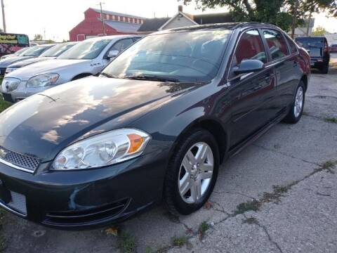 """2013 Chevrolet Impala for sale at MIDWESTERN AUTO SALES        """"The Used Car Center"""" in Middletown OH"""