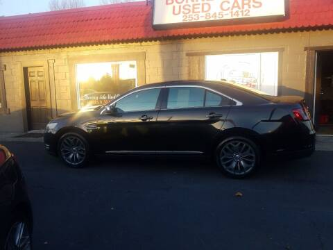 2013 Ford Taurus for sale at Bonney Lake Used Cars in Puyallup WA
