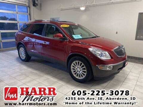 2012 Buick Enclave for sale at Harr's Redfield Ford in Redfield SD