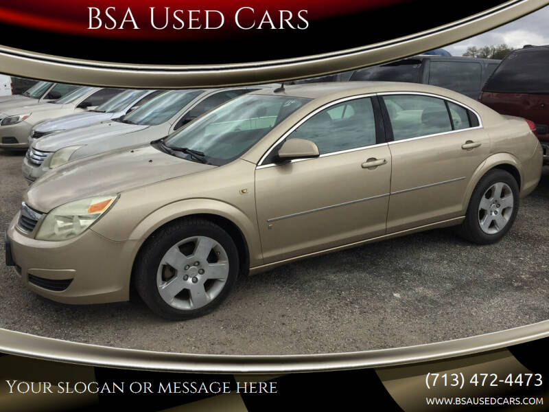 2007 Saturn Aura for sale at BSA Used Cars in Pasadena TX