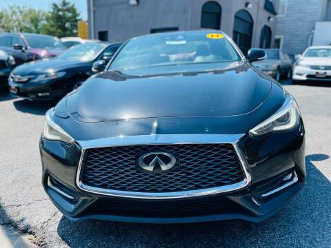 2017 Infiniti Q60 for sale at H & H Motors 2 LLC in Baltimore MD