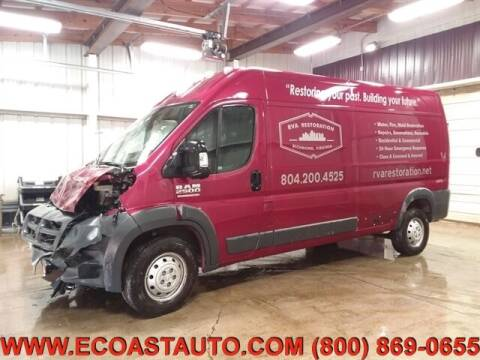 2018 RAM ProMaster Cargo for sale at East Coast Auto Source Inc. in Bedford VA
