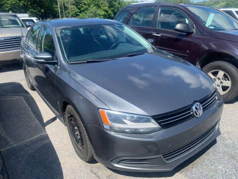 2013 Volkswagen Jetta for sale at BURNWORTH AUTO INC in Windber PA