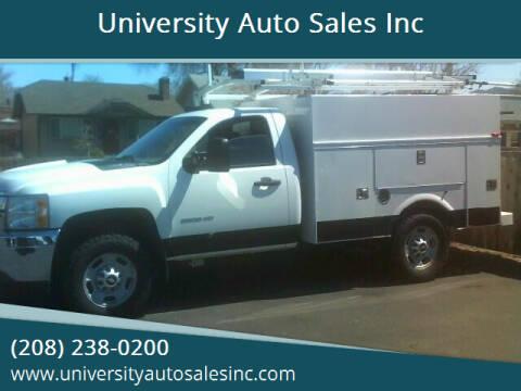 2013 Chevrolet Silverado 2500HD for sale at University Auto Sales Inc in Pocatello ID