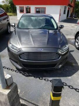 2016 Ford Fusion for sale at Boss Automotive in Hollywood FL