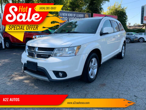 2012 Dodge Journey for sale at A2Z AUTOS in Charlottesville VA