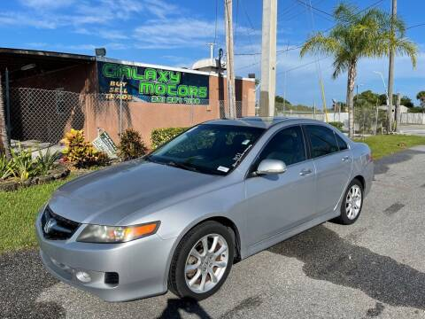 2006 Acura TSX for sale at Galaxy Motors Inc in Melbourne FL