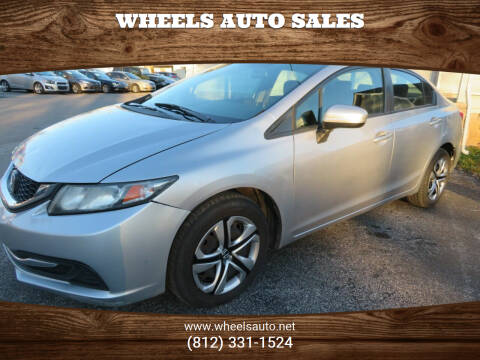 2014 Honda Civic for sale at Wheels Auto Sales in Bloomington IN
