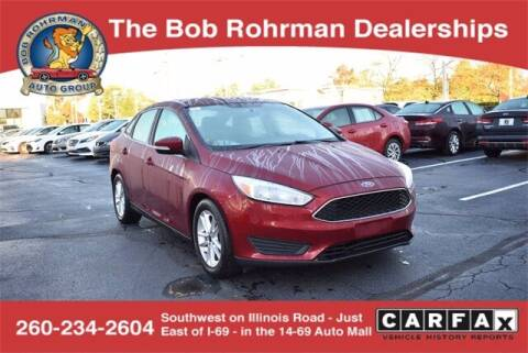 2017 Ford Focus for sale at BOB ROHRMAN FORT WAYNE TOYOTA in Fort Wayne IN